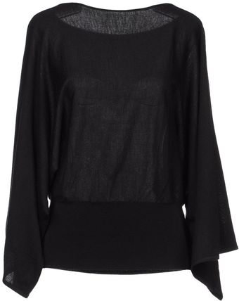 Ralph Lauren Black Label Cashmere Sweater - Lyst