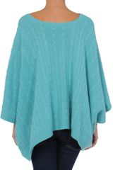 Ralph Lauren Black Label Short Sleeve Sweater in Blue (turquoise) - Lyst