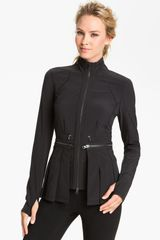 Zella Zip Off Peplum Jacket - Lyst