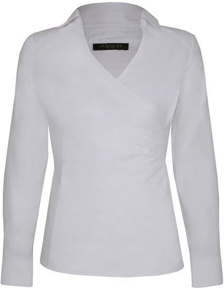 Womens Tailored Blouses 117