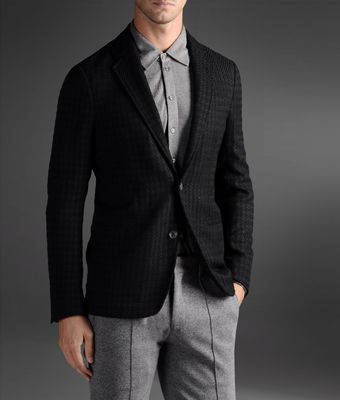 Armani Two Button Jacket - Lyst