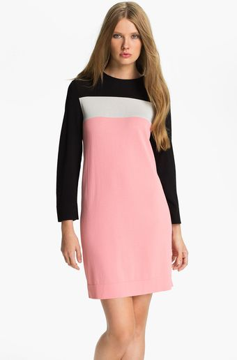Diane Von Furstenberg Diana Knit Shift Dress - Lyst