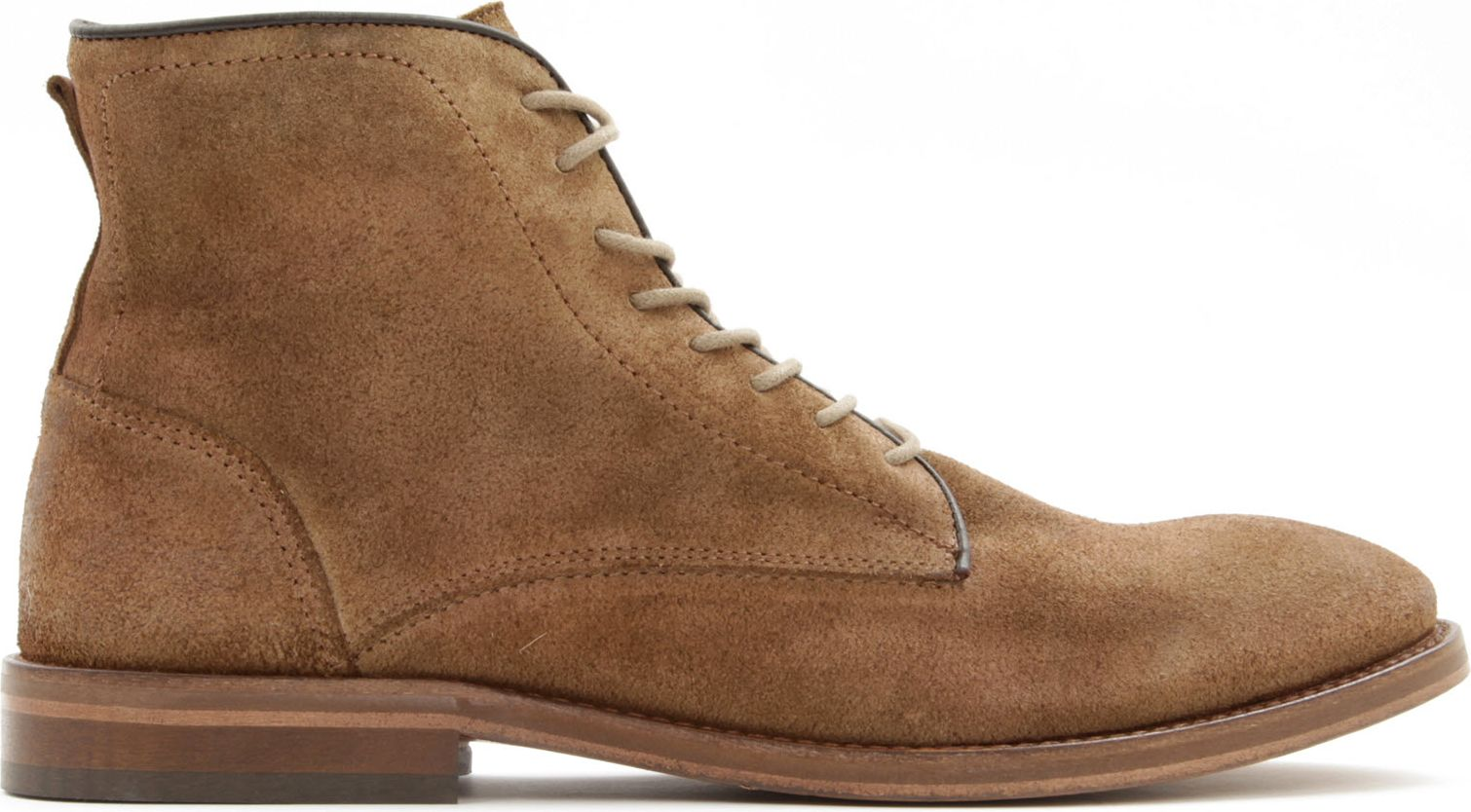 h by hudson smyth suede boots in brown for yellow lyst
