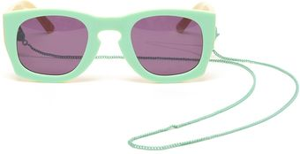 House Of Holland Librarian Wayfarerstyle Acetate Sunglasses - Lyst