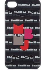 Marc By Marc Jacobs Mbmj Graphic Iphone Case with Card Holder - Lyst