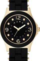 Marc By Marc Jacobs Pelly Gold and Black  Watch