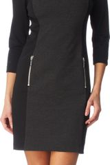Michael by Michael Kors Colourblock Dress - Lyst