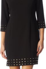 Michael by Michael Kors Studded Dress - Lyst