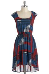 ModCloth Try As I Matrix Dress - Lyst