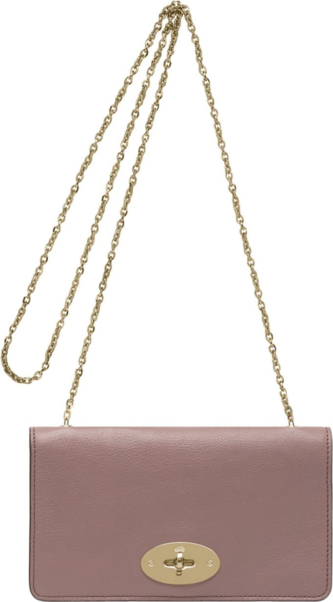 ecc670f9f6 ... new arrivals mulberry bayswater glossy goat leather clutch wallet in  pink lyst f53a6 9bb7e