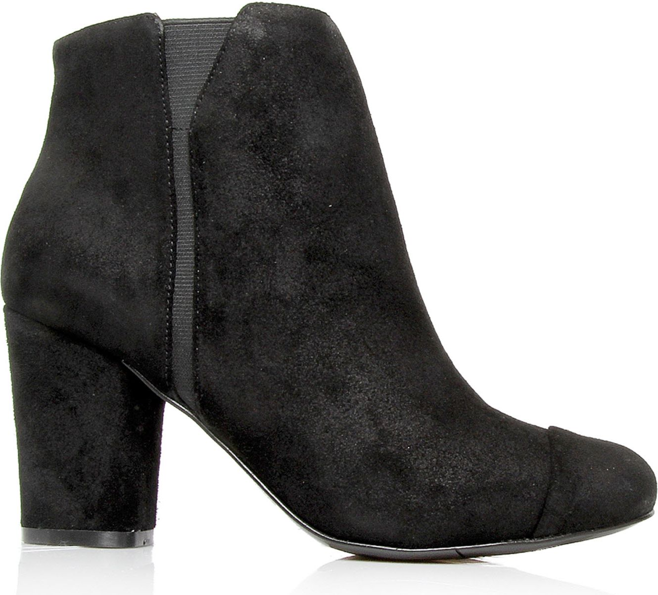 nine west onthemoney suede ankle boots in black lyst