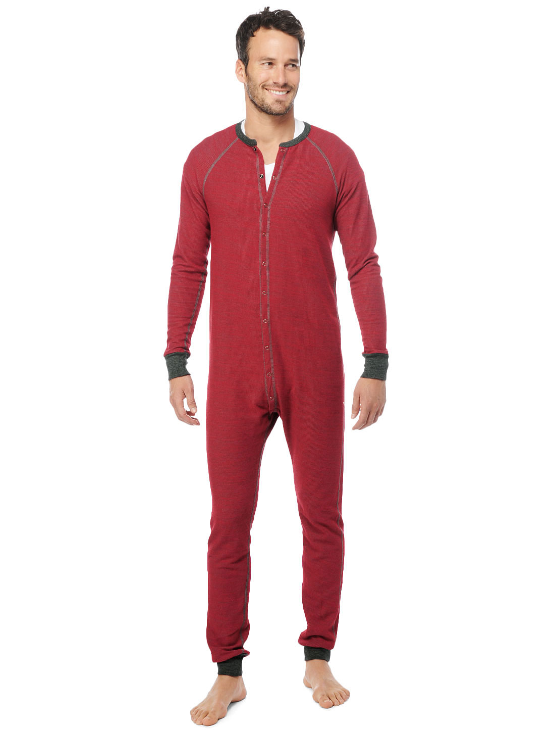 Splendid Union Suit In Red For Men Bristol Lyst