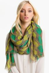 Tory Burch Pop Snake Scarf - Lyst