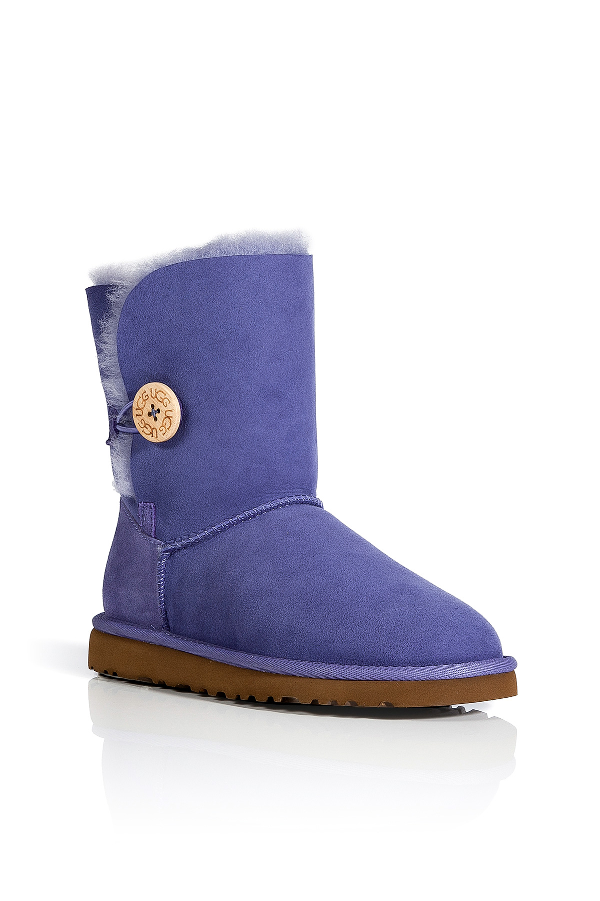 Tall Blue Bailey Button Uggs