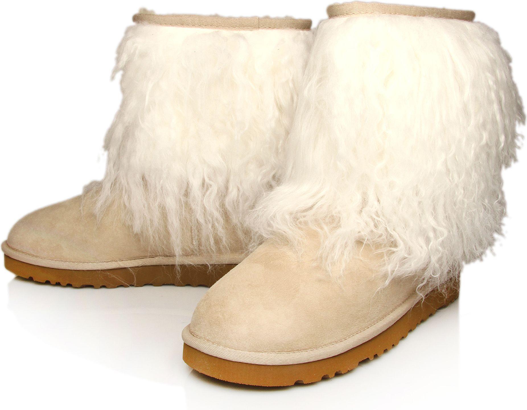 fake sheepskin ugg boots