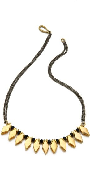Vanessa Mooney Estella Necklace in Gold - Lyst