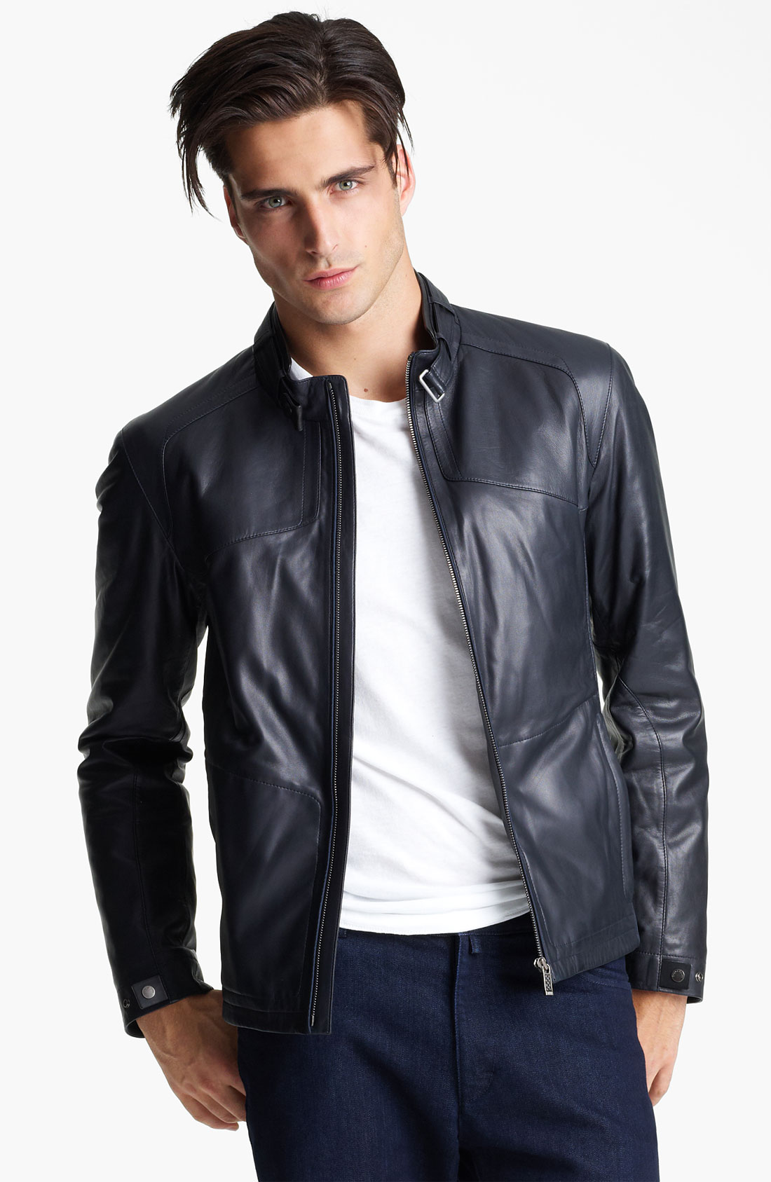 Nordstrom Leather Jacket Mens