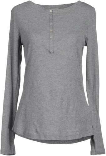 Hoss Intropia Long Sleeve Tshirt - Lyst