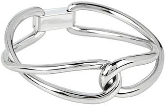 Michael Kors Equestrian Twist Bangle Bracelet - Lyst