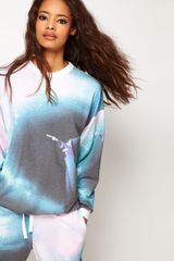 ASOS Collection Asos Sweatshirt with Fantasia Print - Lyst