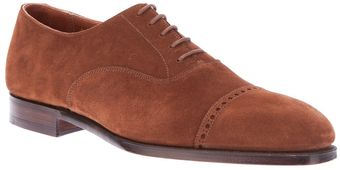Crockett & Jones Belgrave Oxford Shoe - Lyst