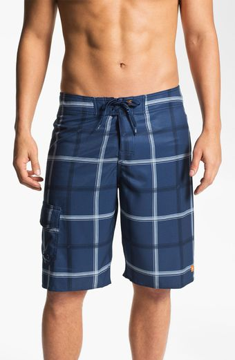 Quiksilver Square Root Diamond Dobby Board Shorts Men - Lyst