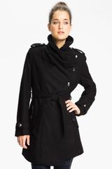 Sam Edelman Asymmetrical Belted Coat Online Exclusive - Lyst