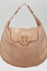 Tory Burch Amanda Flat Hobo Bag - Lyst