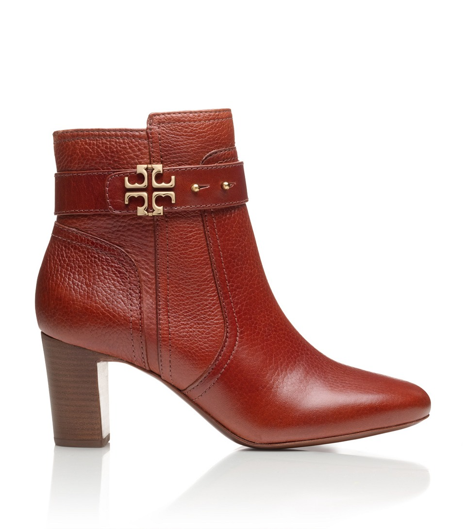 d4afd1f73cf5 Lyst - Tory Burch Elina Bootie in Red
