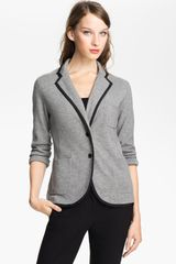 Vince Camuto Milano Stitch Sweater Jacket - Lyst
