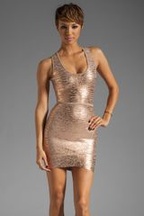 BCBGMAXAZRIA Bandage Dress - Lyst
