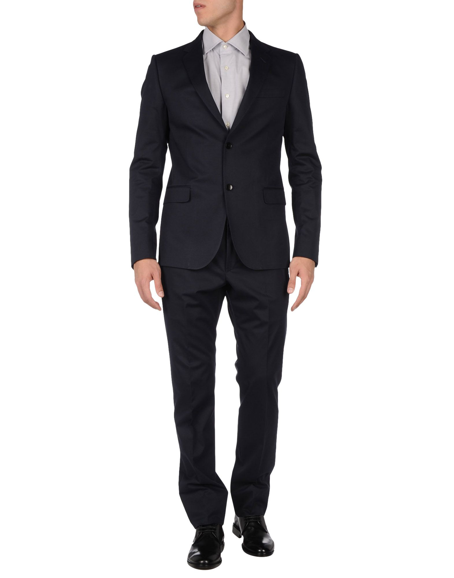Gucci suit in blue for men lyst Designer clothing for men online sales