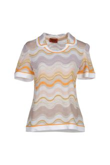 Missoni Short Sleeve Sweater - Lyst