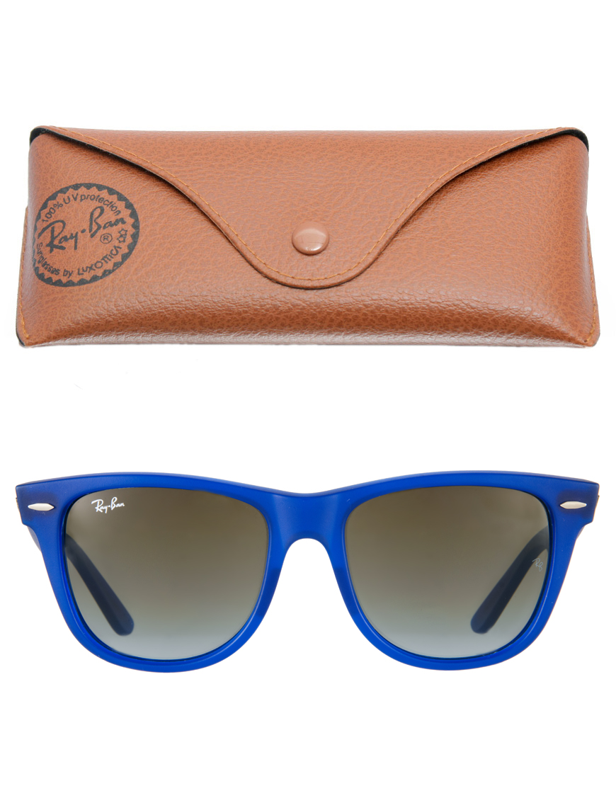 2d0dc3ac03a Ray Ban Sunglasses In Blue Colour For Man