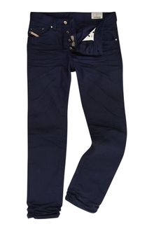 Diesel Darron 8qu Regular Slim Fit Jeans - Lyst