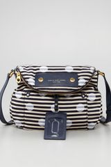 Marc By Marc Jacobs Preppy Nylon Natasha Striped Crossbody Bag - Lyst