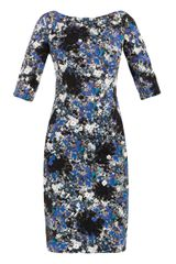 Erdem Cecile Pelham Crescentprint Dress - Lyst