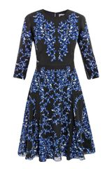 Erdem Lily Venice Swirlprint Dress - Lyst