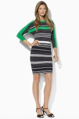 Lauren by Ralph Lauren Dolmansleeved Jersey Dress - Lyst