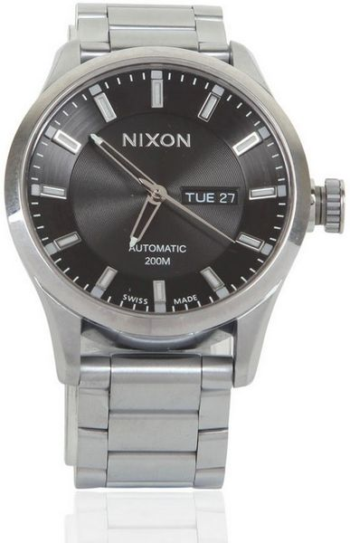 Nixon The Automatic Ii Watch in Silver for Men - Lyst