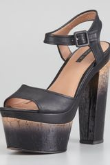 Rachel Zoe Evelyn Degradeheeled Sandal - Lyst