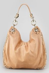 Rebecca Minkoff Luscious Mini Studded Hobo Bag