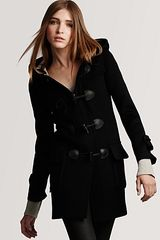 Burberry Minstead Wool Toggle Coat - Lyst