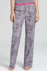 Calvin Klein Underwear Roll Up Pj Pants - Lyst