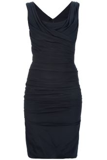 Dolce & Gabbana Ruched Dress - Lyst