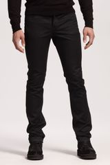 Givenchy Coated Slim Jeans - Lyst