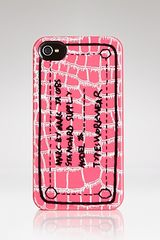 Marc By Marc Jacobs Iphone 4 Case Trompe Croc - Lyst