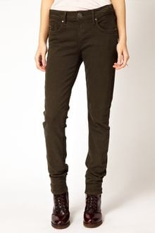 River Island Amelie Super Skinny Coloured Jean - Lyst