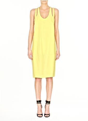 Alexander Wang Relax Fit Dress with Racerback - Lyst