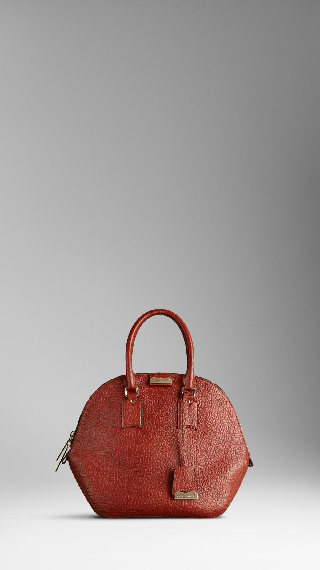 ffc86767dccf Lyst - Burberry The Orchard in Heritage Grain Leather in Brown